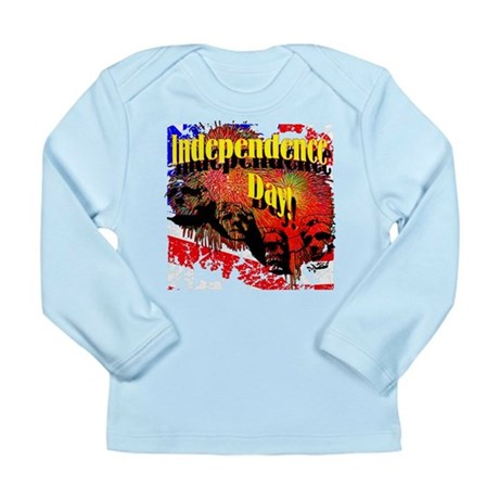 Independence Day Long Sleeve Infant T-Shirt