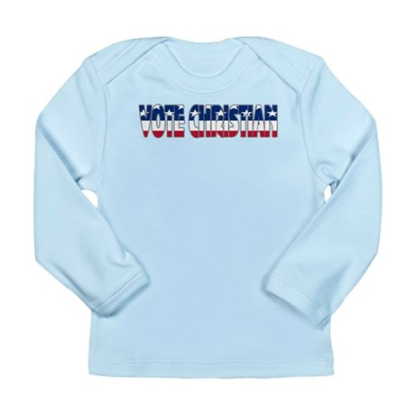 Vote Christian Long Sleeve Infant T-Shirt