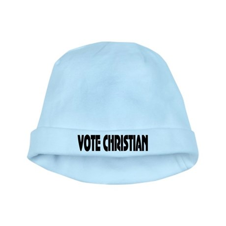 Vote Christian baby hat
