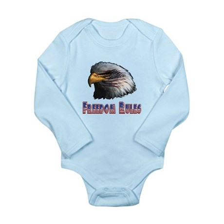 Freedom Rules Eagle Long Sleeve Infant Bodysuit