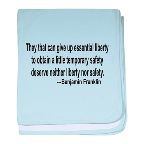 Essential Liberty baby blanket