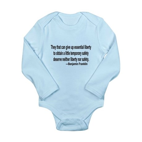 Essential Liberty Long Sleeve Infant Bodysuit