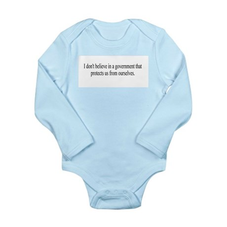 Government Protection? Long Sleeve Infant Bodysuit