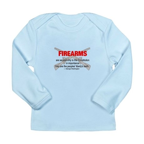 Anti Gun Control Long Sleeve Infant T-Shirt