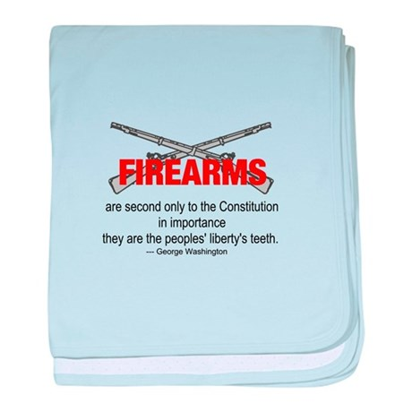 Anti Gun Control baby blanket