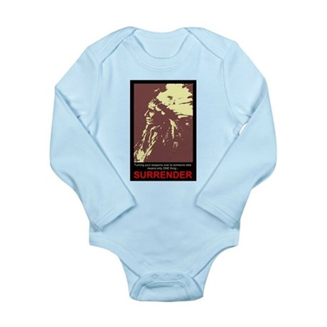 Anti-Gun Control Long Sleeve Infant Bodysuit
