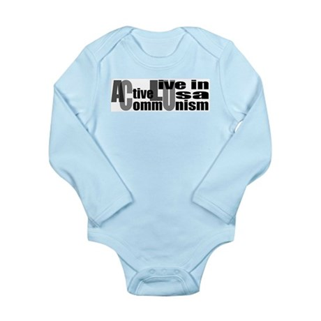 Anti-ACLU Long Sleeve Infant Bodysuit