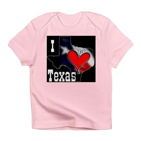 I Love Texas Infant T-Shirt