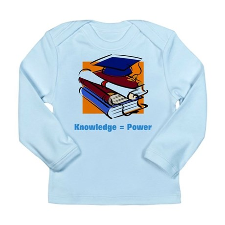 Knowledge is Power Long Sleeve Infant T-Shirt