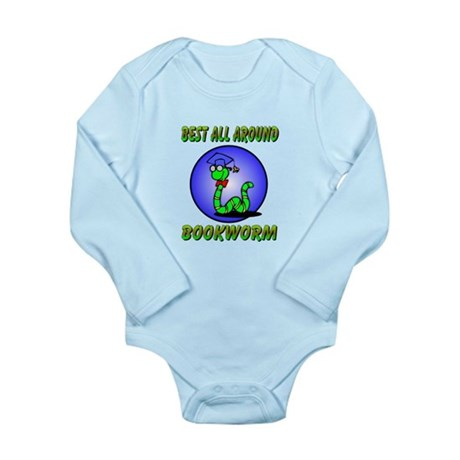 Best Bookworm Long Sleeve Infant Bodysuit