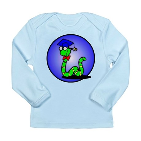 Bookworm Long Sleeve Infant T-Shirt