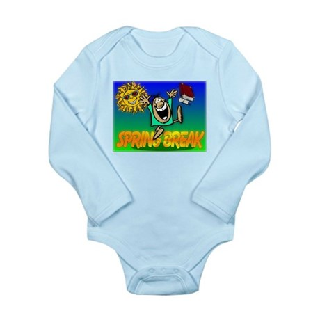 Spring Break Long Sleeve Infant Bodysuit