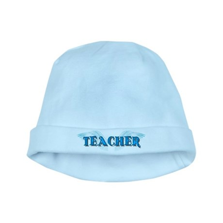 Angel Wings Teacher baby hat