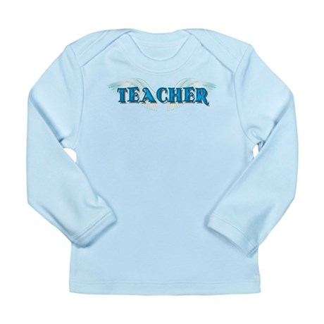 Angel Wings Teacher Long Sleeve Infant T-Shirt