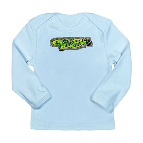 Geek Long Sleeve Infant T-Shirt