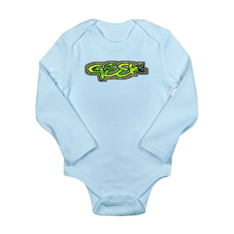 Geek Long Sleeve Infant Bodysuit