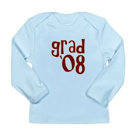 Grad 08 - Brown - Long Sleeve Infant T-Shirt