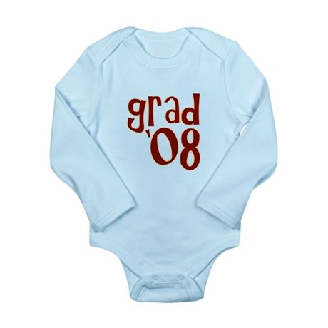 Grad 08 - Brown - Long Sleeve Infant Bodysuit