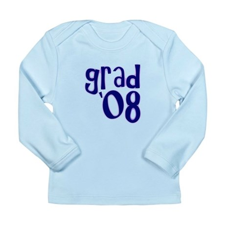 Grad 08 - Purple - Long Sleeve Infant T-Shirt