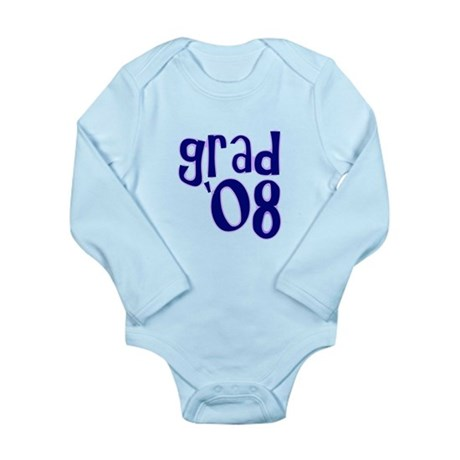 Grad 08 - Purple - Long Sleeve Infant Bodysuit