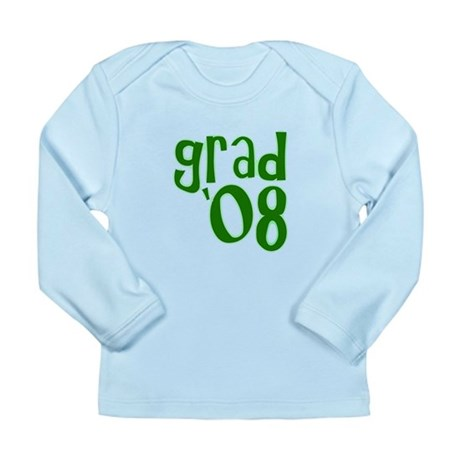 Grad 08 - Green - Long Sleeve Infant T-Shirt
