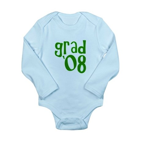 Grad 08 - Green - Long Sleeve Infant Bodysuit
