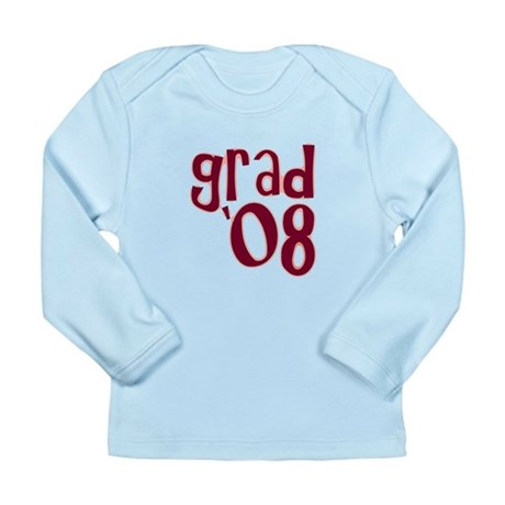 Grad 08 - Brick Red - Long Sleeve Infant T-Shirt