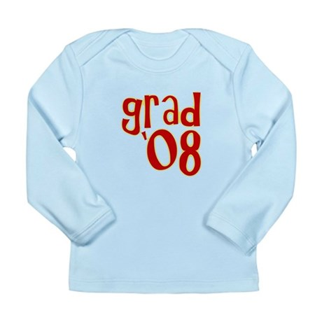 Grad 2008 - Red - Long Sleeve Infant T-Shirt