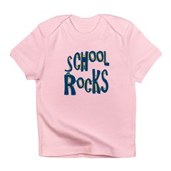 School Rocks - Dk Teal - Infant T-Shirt