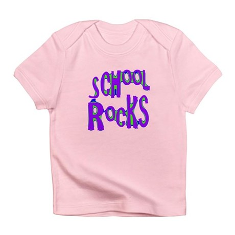 School Rocks - Purple - Infant T-Shirt