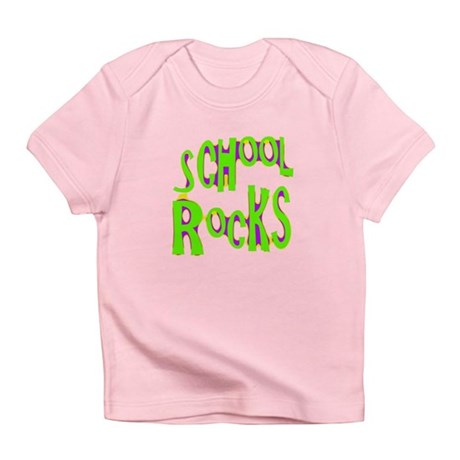 School Rocks - Lime Infant T-Shirt