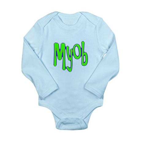 MYOB Long Sleeve Infant Bodysuit