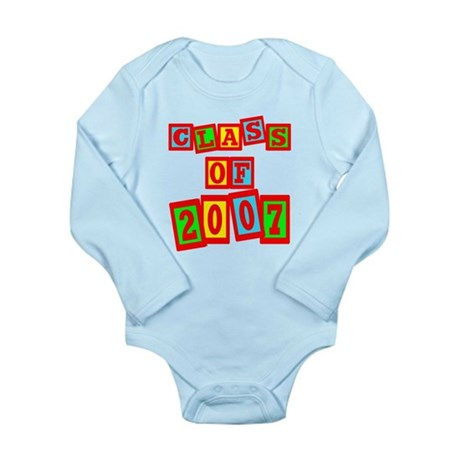 Class of 2007 Long Sleeve Infant Bodysuit