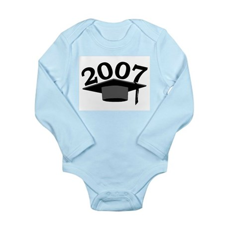 Graduation 2007 Long Sleeve Infant Bodysuit