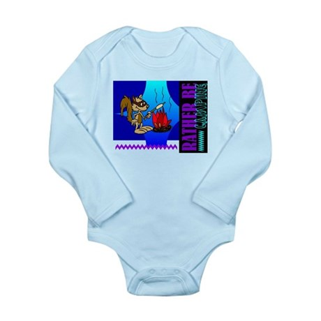Rather Be Camping Long Sleeve Infant Bodysuit