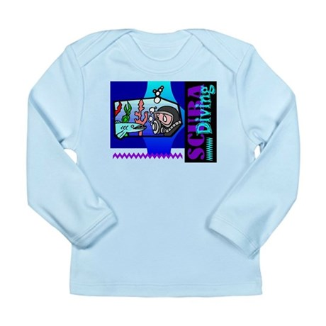 Scuba Diving Long Sleeve Infant T-Shirt