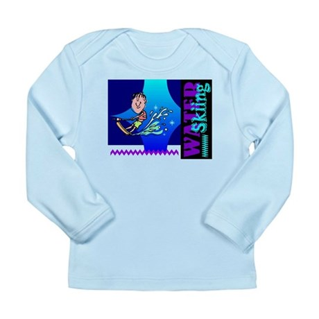 Water Skiing Long Sleeve Infant T-Shirt