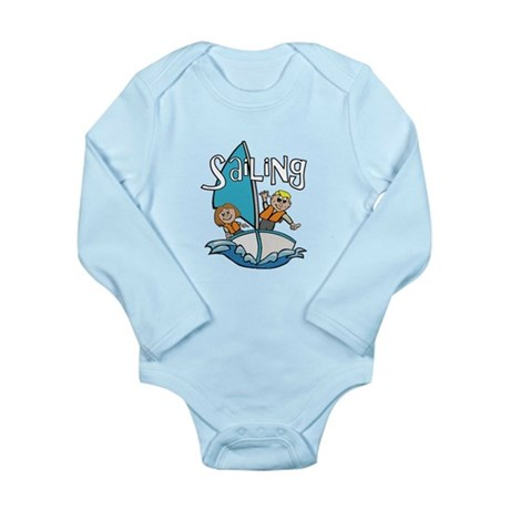 Sailing Long Sleeve Infant Bodysuit