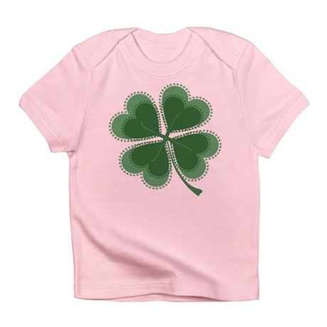 Lucky Four Leaf Clover Infant T-Shirt