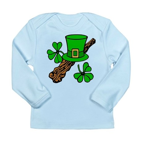 Irish Shillelagh Long Sleeve Infant T-Shirt