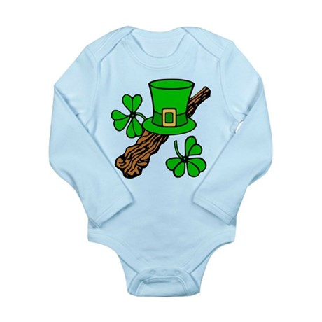 Irish Shillelagh Long Sleeve Infant Bodysuit