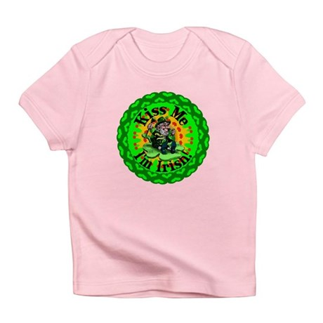 Kiss Me Irish Leprechaun Infant T-Shirt