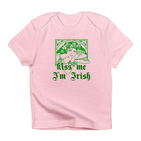 Kiss Me Irish Girl Infant T-Shirt