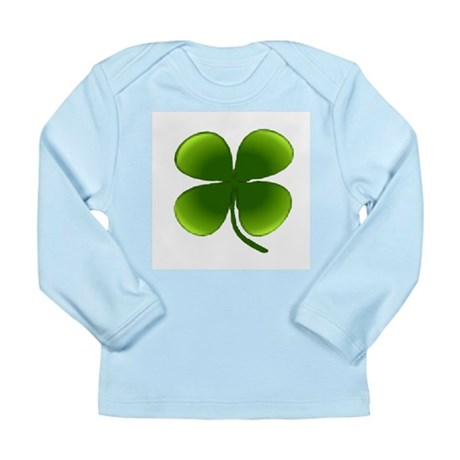Shamrock Long Sleeve Infant T-Shirt