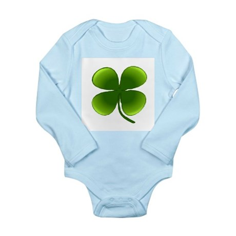 Shamrock Long Sleeve Infant Bodysuit