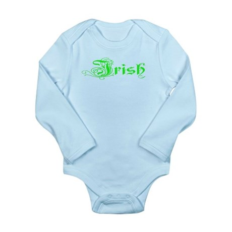 Irish Long Sleeve Infant Bodysuit
