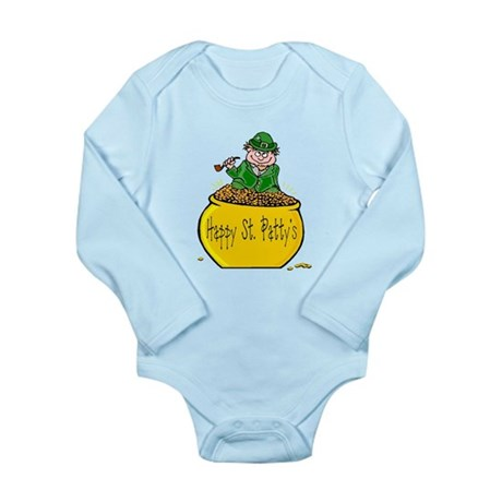 Pot of Gold Long Sleeve Infant Bodysuit