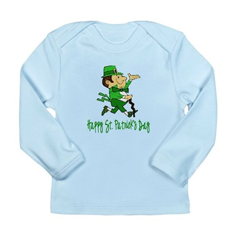 Leprechaun Dandy Long Sleeve Infant T-Shirt