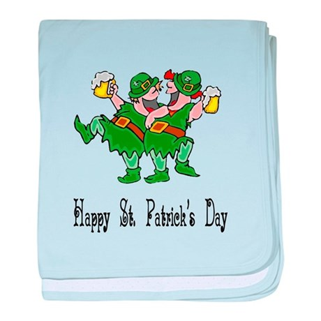 Leprechaun Dance baby blanket