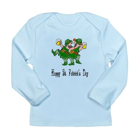 Leprechaun Dance Long Sleeve Infant T-Shirt